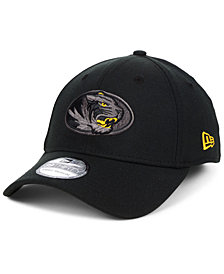 New Era Missouri Tigers Black Pop Flex 39THIRTY Cap