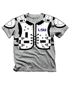 Wes & Willy LSU Tigers Shoulder Pads T-Shirt, Toddler Boys (2T-4T)
