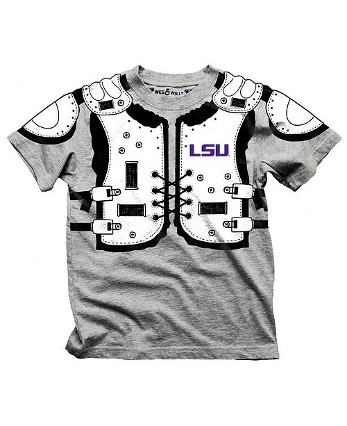 the latest 7269e e7124 LSU Tigers Shoulder Pads T-Shirt, Toddler Boys (2T-4T)