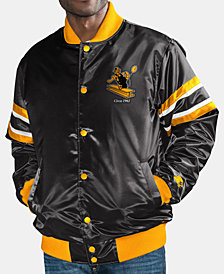 G-III Sports Men's Pittsburgh Steelers Retro Varsity Jacket