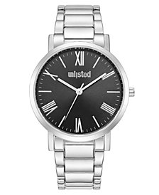 Unlisted Men's Silvertone Stainless Steel Sport Watch, 40MM