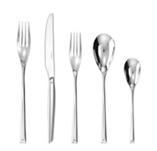 Rosenthal Sambonet H-Art 5 Piece Place Setting 18/10 Stainless Steel
