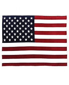 Sleeping Partners USA Flag Fleece Blanket
