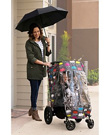 Rosie Pope Color-Changing Stroller Rain Cover, Clouds