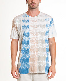 Original Paperbacks South Sea Roll Up Tie Dye Crewneck Tee