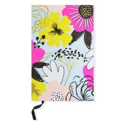 Floral Coptic Notebook