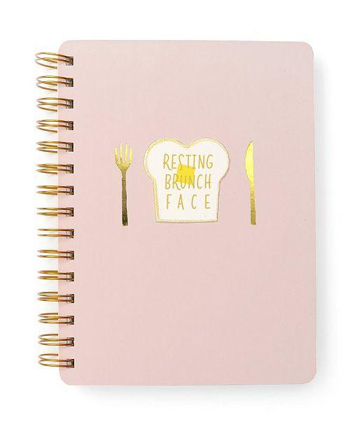"Mara-Mi ""Resting Brunch Face"" Spiral Notebook"