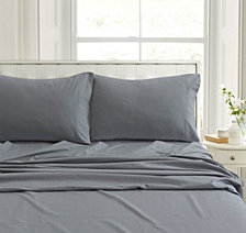 Heavyweight Flannel Solid Extra Deep Pocket Full Sheet Set