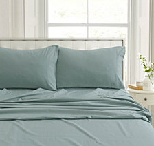 Heavyweight Flannel Solid Standard Pillow Pair Set