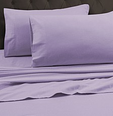 170-GSM Heavyweight Solid Flannel King Fitted Sheet