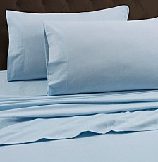 170-GSM Heavyweight Solid Flannel Queen Fitted Sheet