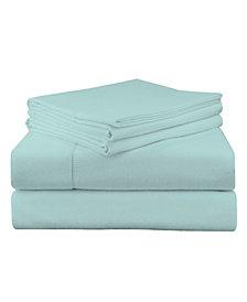 Pointehaven Luxury Weight Flannel Sheet Set