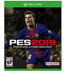 Xbox 1 Pro Evolution Soccer 2019