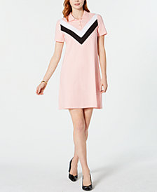 Tommy Hilfiger Chevron Polo Dress, Created for Macy's