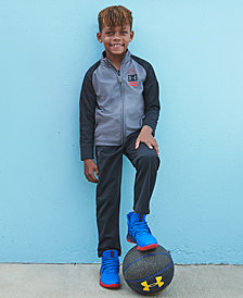 Under Armour Little Boys 2-Pc. On The Mark Track Jacket & Pants Set