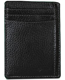 Buxton Men's Money Clip Leather Card Case