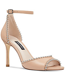 Nine West Jellint Stud Sandals