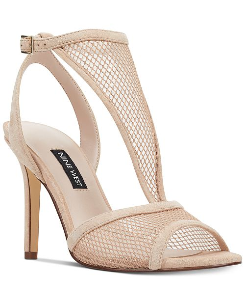 Nine West Manchon Mesh Sandals