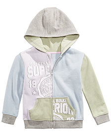 Epic Threads Little Boys Colorblocked Full-Zip Hoodie, Created for Macy's
