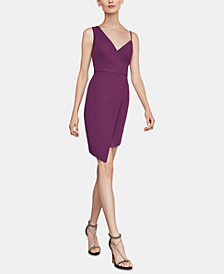 BCBGMAXAZRIA Micaila Asymmetrical Sheath Dress