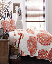 Shaila Medallion 3-Pc Set Full/Queen Quilt Set