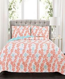 Dina  3-Pc Set King Quilt Set