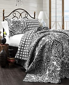 Aubree 3-Piece Reversible King Quilt Set