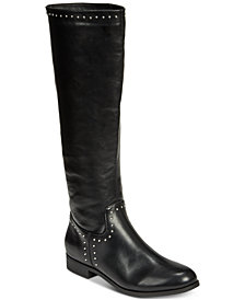 Esprit Genie Memory Foam Studded Riding Boots