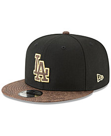 New Era Los Angeles Dodgers Gold Snake 9FIFTY Snapback Cap