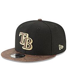 New Era Tampa Bay Rays Gold Snake 9FIFTY Snapback Cap