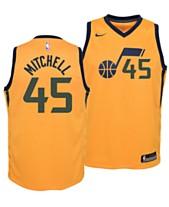 online retailer 4cf84 40e91 Nike Donovan Mitchell Utah Jazz Statement Swingman Jersey, Big Boys (8-20)