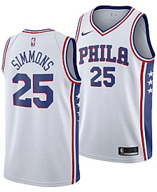 Nike Ben Simmons Philadelphia 76ers Association Swingman Jersey, Big Boys (8-20)