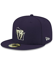 Wisconsin Timber Rattlers AC 59FIFTY-FITTED Cap