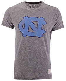 Retro Brand Men's North Carolina Tar Heels Retro Logo Tri-blend T-Shirt