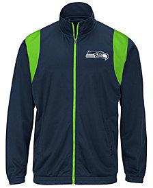 G-III Sports Men's Seattle Seahawks Clutch Time Track Jacket