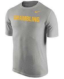 Nike Men's Grambling Tigers Dri-Fit Legend Wordmark T-Shirt