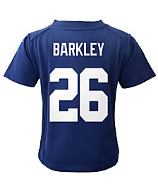 Nike Saquon Barkley New York Giants Game Jersey, Toddler Boys (2T-4T)