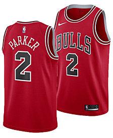 Nike Men's Jabari Parker Chicago Bulls Icon Swingman Jersey