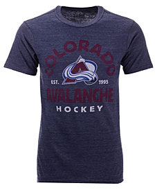 Authentic NHL Apparel Men's Colorado Avalanche Vintage Arch Tri-Blend T-Shirt