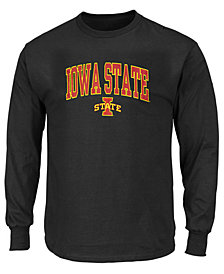 Profile Men's Big & Tall Iowa State Cyclones Wordmark Long Sleeve T-Shirt