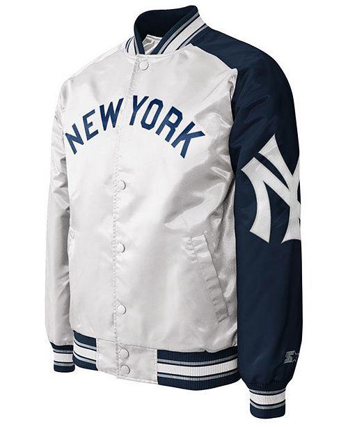 4560a279f46 G-III Sports Men s New York Yankees Dugout Starter Satin Jacket II ...