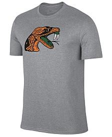 New Agenda Men's Florida A&M Rattlers Big Logo T-Shirt