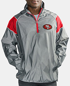 G-III Sports Men's San Francisco 49ers Fade Player Lightweight Pullover Jacket