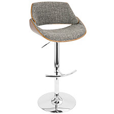 Lumisource Fabrizzi Adjustable Barstool with Swivel