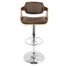 Lumisource Fabrizzi Adjustable Barstool with Swivel