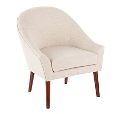 Lumisource Bacci Accent Chair in Fabric