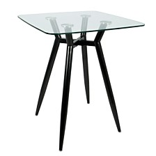 Lumisource Clara Square Counter Table