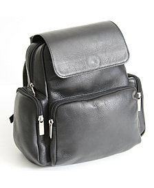 Royce Tablet iPad Backpack in Colombian Genuine Leather