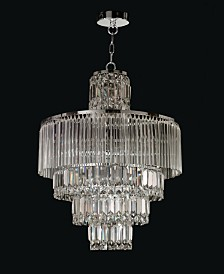 "Dale Tiffany Rossborough 20""W Crystal Chandelier"