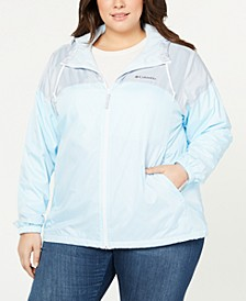 Plus Size Flash Forward™ Lined Windbreaker